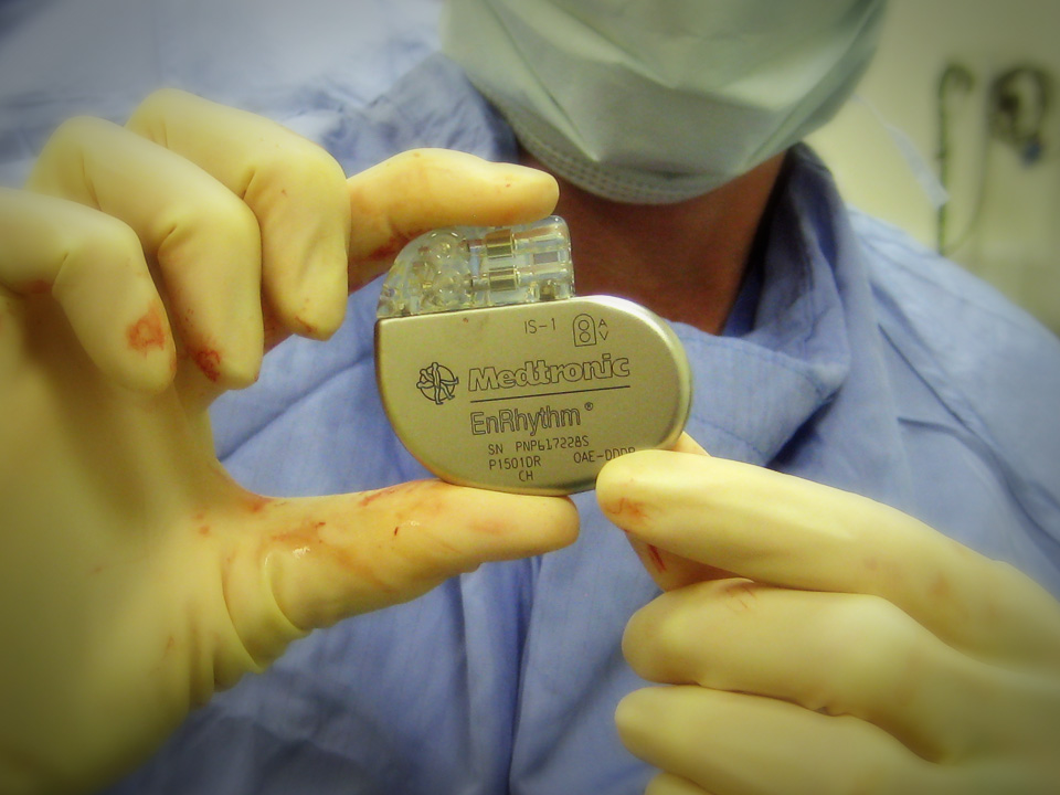 Electronic pacemaker. Image credit: Steve Wintor [CC] via Flickr