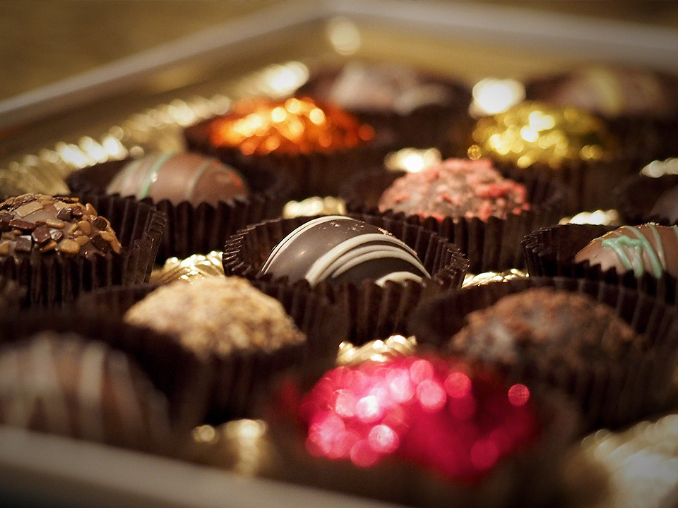Just in time for Christmas... chocolate can actually be good for you.