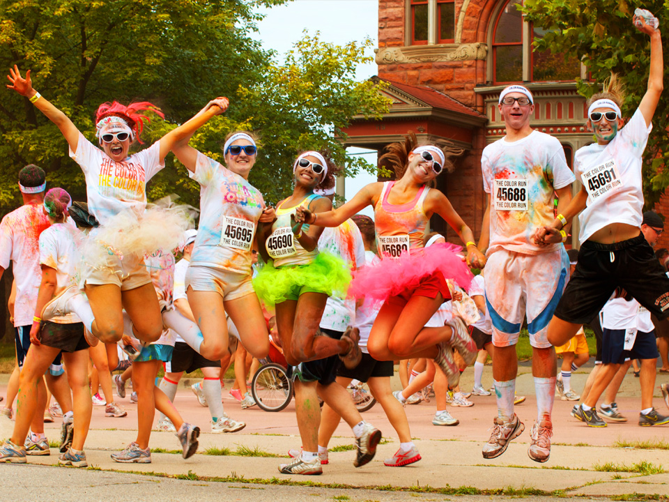The secret to effective exercise: have fun while you're doing it! Image credit: Mike Boening Photography via Flickr.