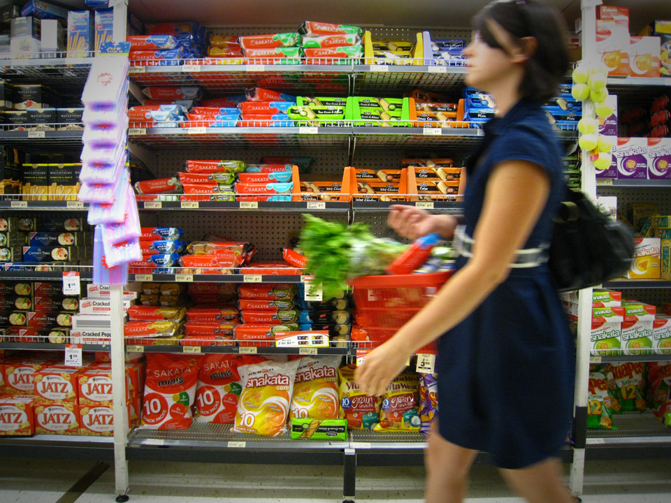 It's not a good idea to shop when you're hungry. Image credit Luis Giles via Flickr.