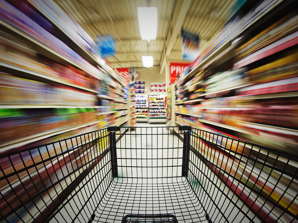 Even if you don't notice, the soundtrack playing in the supermarket could be having a profound effect on your purchases. Image credit: Caden Crawford via Flickr